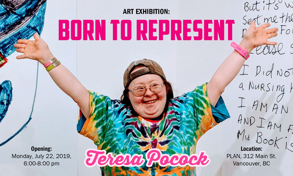 Born to Represent: Art Exhibition by Teresa Pocock, presented by PLAN